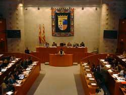 CHA y PAR se enfrentan en las Cortes por el desarrollo urbanístico